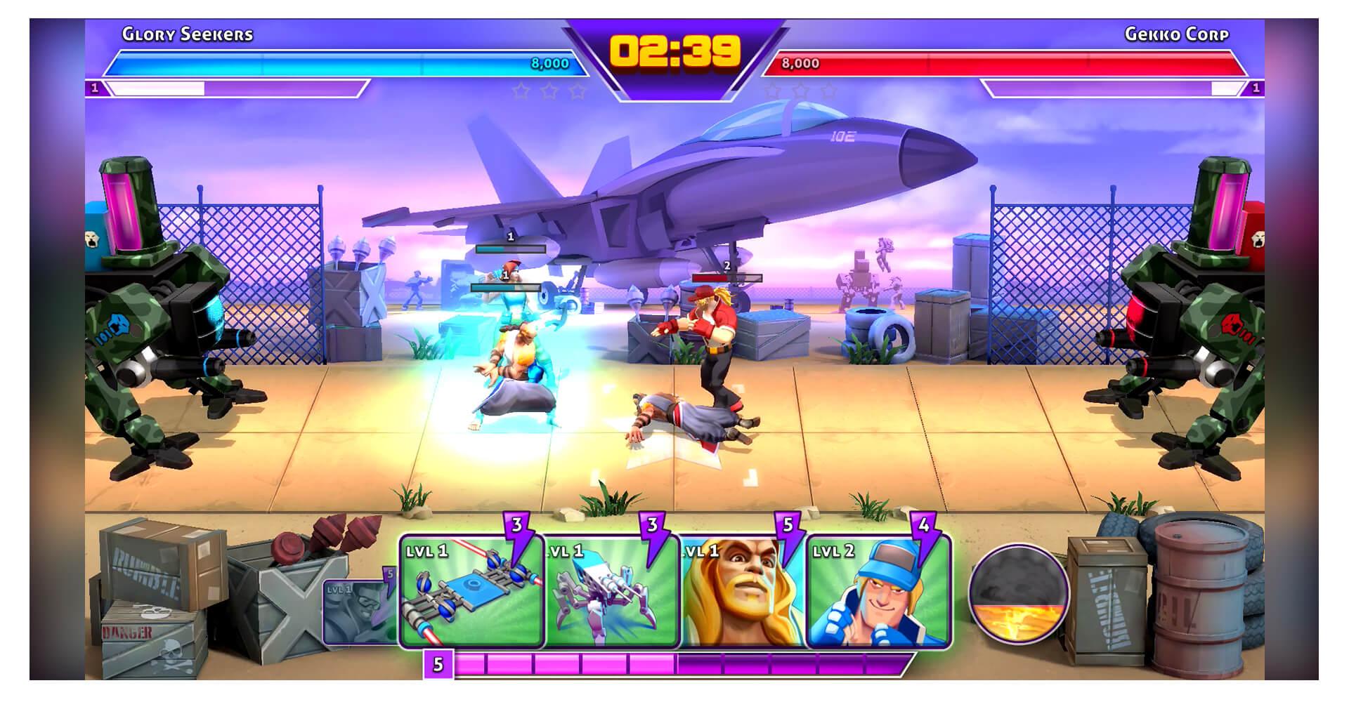 Rumble League Arena 1 Screenshot