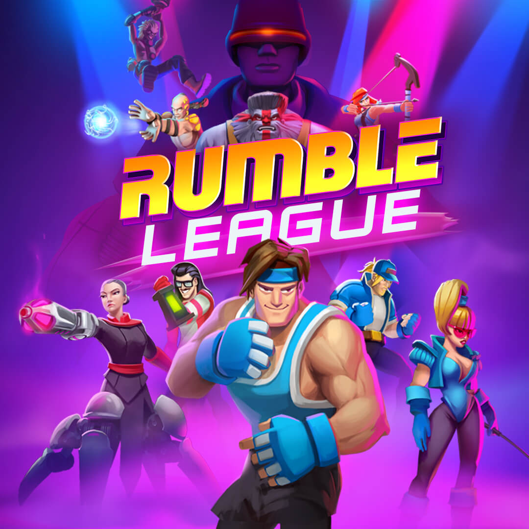 Rumble League Cover Image